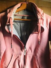 Bench Pink Zipped Hoodie Size L