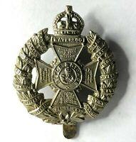 WW1 Era The Rifle Brigade Cap Badge good Condition 4.7 x 4.1 cm's