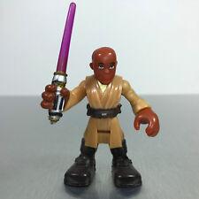 Playskool Star Wars Galactic Heroes Jedi Force MACE WINDU figure (play wear)