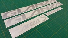 Toyota Starlet Glanza S 5 replacement Stickers Vinyl Decals Set EP91 P90 Turbo