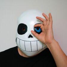 Kid Undertale Cos COOL SKELETON Sans Cosplay Latex Mask Halloween Skull Cos Mask