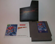 Mega Man 5 (1992) Nintendo NES w/ Instruction Manual Booklet Book Very Good