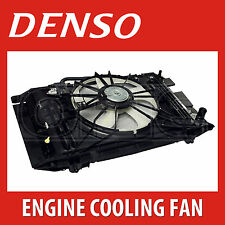 DENSO Radiator Fan - DER21010 - Engine Cooling - Genuine OE Replacement Part