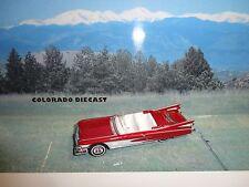 Loose Hot Wheels Red 1959 Cadillac Eldorado w/Real Riders