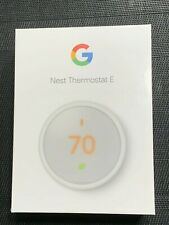 Google Nest Thermostat E - White - T4000ES - Brand New!!!  Factory Sealed!!!