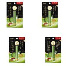 ROHTO Mentholatum Melty Cream Lip Balm Green Tea Matcha 2.4g × 4 with tracking