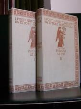 Pindaro LE ODI 1927 I poeti greci tradotti da Ettore Romagnoli De Carolis illus