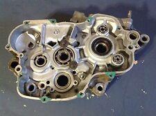 1999 99 Kawasaki KX125 KX 125  right center case motor engine  00 01 02