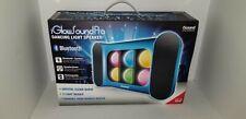 iSound Wireless Rechargeable Bluetooth iGlowSound Dancing light Speaker Blue A2