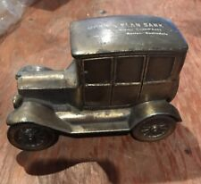 1950s Banthrico 1927 Ford Model T Car Metal Bank MORRIS PLAN BANK BOSTON, MA