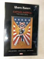 Marvel Knights Captain America: The New Deal TPB Softcover (2018) Rieber