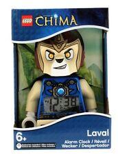 LEGO Kids' Legends of Chima Laval Mini-Figure Light Up Alarm Clock