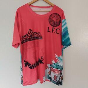 Liverpool Football Club Fan Shirt 3XL XXXL LFC Premier League EPL Jersey Soccer