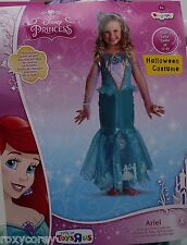 Halloween Disney Princess Ariel Prestige Costume Size Medium 7-8 NWT
