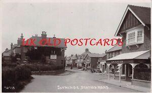 Kent - LYMINGE, Station Road, Real Photo
