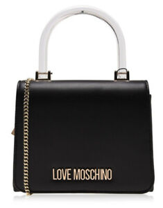 Love Moschino TH Smooth Crossbody Bag Black