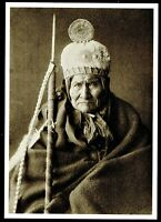 ⫸ 958 Postcard – Geronimo, Chiricahua Apache Chief 1905 E. Curtis Photo – NEW