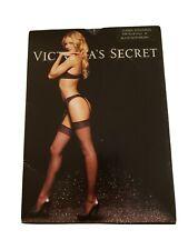 Victoria Secret Classic Stockings,  Black Size A