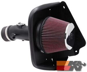 K&N Air Intake System TYPHOON For NISSAN MAXIMA V6-3.5L F/I, 09-17 69-7002TTK