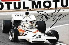 Brian Redman firmato F1 Yardley-McLaren M19A, MONACO GRAND PRIX 1972