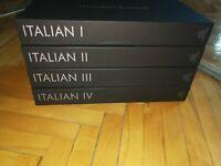 Italian Language Course I II III IV V Pimsleur Audio CD Disks