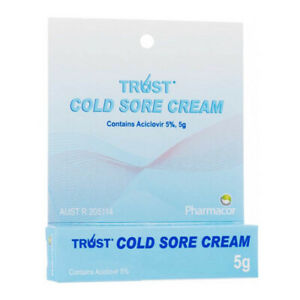 1x, 2x, 3x, 4x Cold Sore Cream 5g 5% w/w | Generic Zovirax