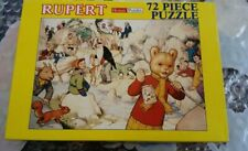 Rupert Bear Jigsaw Puzzle 72 Piece Brand New