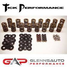 """Tick Performance .660"""" Lift Dual Valve Spring Kit with Steel Retainers - LS/LSX"""