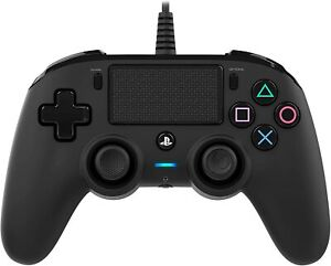 PS4 - Wired Compact Controller / Pad #schwarz [Nacon] sehr guter Zustand
