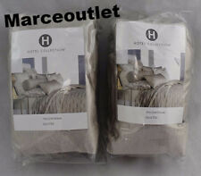 Hotel Collection Fresco EURO Quilted Pillowshams Set Soft Gold
