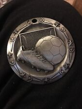 19-Soccer Silver Sport Award Medal Only See Description (B6)