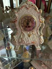 """New listing Lenox Disney Cogsworth Clock Beauty & Beast Live Action Sculpted Ornate 7"""""""