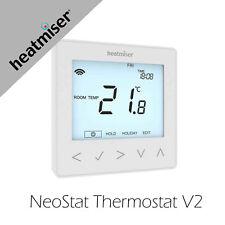 Heatmiser NeoStat v2 230v Glacier White Thermostat for Water Underfloor Heating