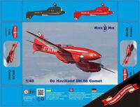 Mikro-Mir 48-017 De Havilland DH.88 Comet plastic model kit 1/48