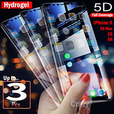 Apple iPhone X XS XR XS MAX HYDROGEL AQUA FLEX Full Coverage Screen Protector