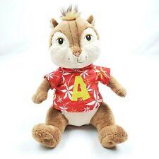 "Alvin And The Chipmunks 12"" Build A Bear Stuffed Animal Plush Hawaiian Shirt"