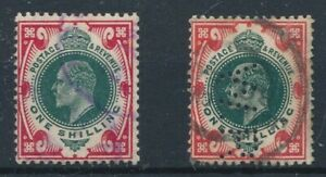 [31809] Great Britain 1902/10 2 good stamps Very Fine used