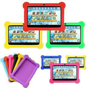 """Universal 7"""" Inch Soft Silicone Cover Case For Android Kids Child Tablet PC UK K"""