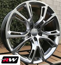 "20"" inch RW Wheels for Jeep Grand Cherokee 20x9"" Hyper Silver Rims SRT8 Spider"