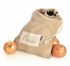 Ogilvies Provincial Linen Onion Bag Storage Sack