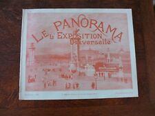 LE PANORAMA DE L' EXPOSITION UNIVERSELLE PARIS 1900  N°6 neurdein baschet