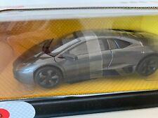 Damaged Die-Cast 1/24 Mondo Motors Lamborghini Reventon met. Grey MO51053