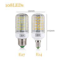 E27 E14 LED Corn Bulb 7W 12W 15W 20W 25W 45W Light 5730 SMD White Lamp 220V 110V