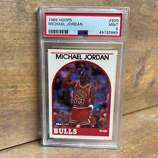 1989-90 Hoops #200 Michael Jordan - PSA Mint 9 NBA Chicago Bulls - NEW SLAB