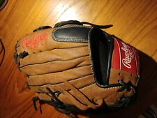 """New listing Rawlings D1275HB Leather Baseball Glove -lightly used- 12.75"""" Right Hand Thrower"""