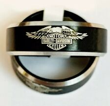 Harley Davidson Inspired Ring Size 8
