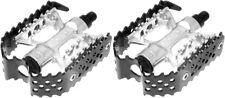 00001C31 Odyssey Triple Trap Bmx Cage Pedals Black Anodized 9/16