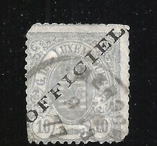 Luxembourg Scott #O15, Single 1875-76 FVF Used