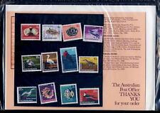 COCOS KEELING Is.1969 BIRDS SET AUSTRALIA PO PRES.PACK