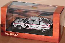 NOREV 159007 Voiture Miniature CITROEN CX 2400 Gti Dakar Blanc 1/43 neuf